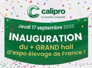 Inauguration hall d'expo élevage